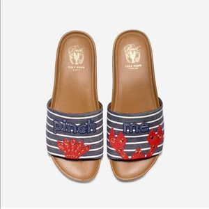 New! Cole Haan Pinch Montauk Lobster Slide 6.5